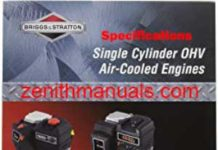 BRIGGS AND STRATTON VANGUARD OHV V-TWIN CYLINDER ENGINE